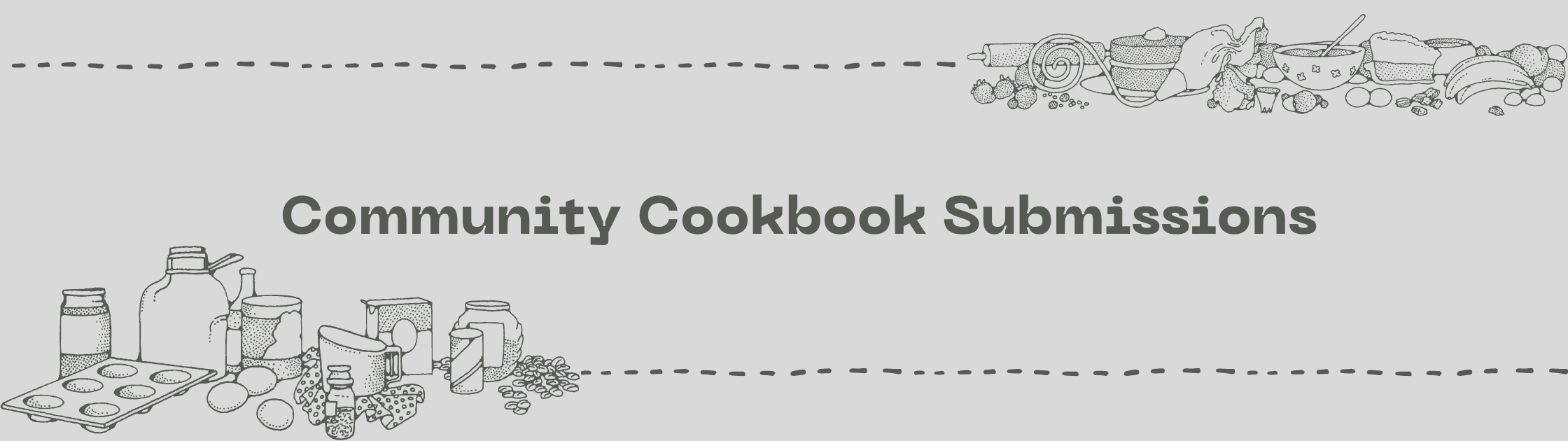 community cookbook submissions cover image