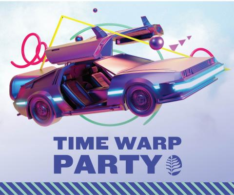Time Warp Party graphic