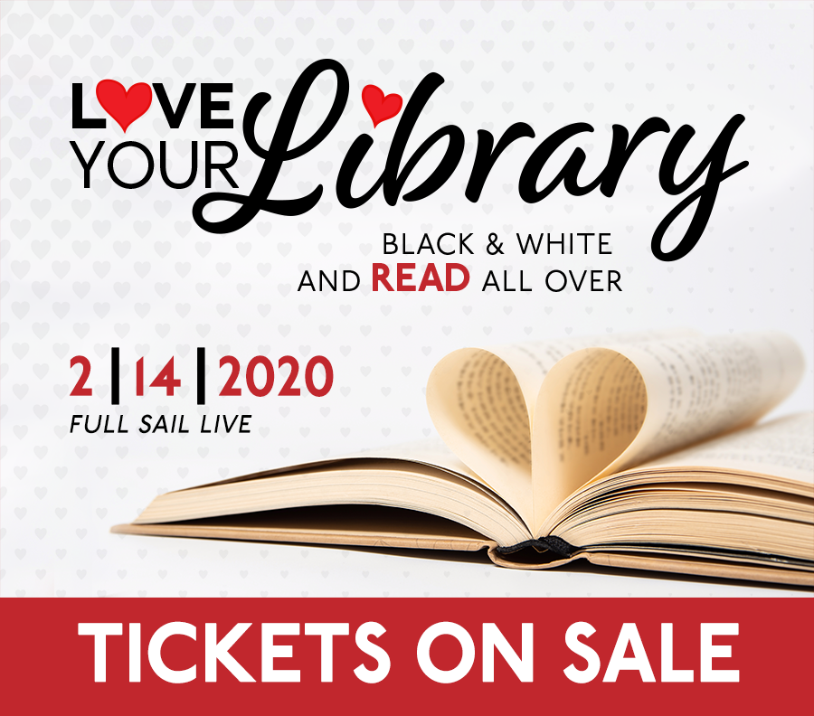 Love Your Library Gala Tickets are on sale
