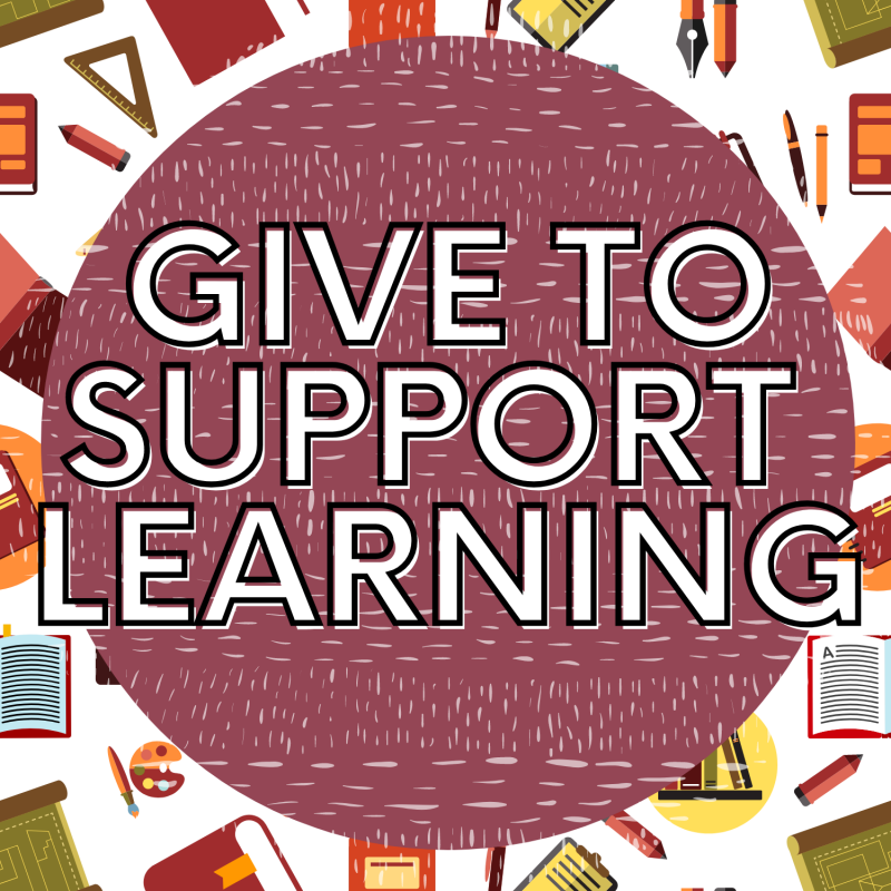 Give to support learning